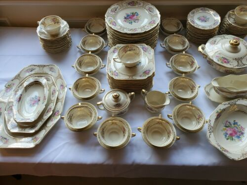 Heinrich & Co Lady Louise 105 Piece SERVICE FOR 12 plus Many extras