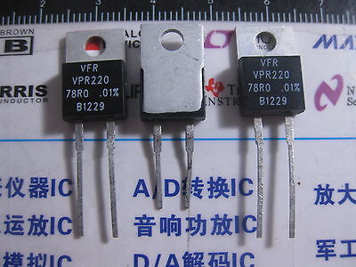 1x Vpr220 78r0 0.01 Vishay Foil Resistors Y092578r0000t0l