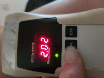 Bci Handheld Capnometer Capnocheck Model 20600a1 Etco2 Mmhg Respiration Rate