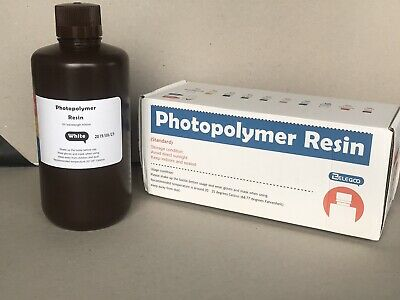 ELEGOO Standard Photopolymer Resin 1000g (WHITE) UV wave length 405nm
