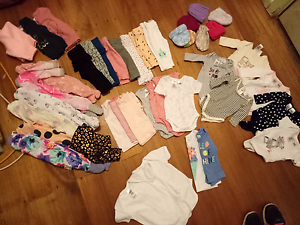 Baby Girls 0000 second hand clothes Greensborough Banyule Area Preview
