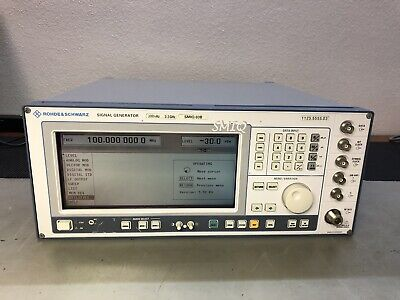Rohde Schwarz Smiq03b 3.3ghz Vector Sig Generator -calibrated- Custom Options