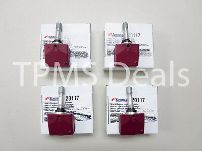 2004 Chevrolet Corvette C5 New Schrader 20117 TPMS Set OE Replacement 315 mhz