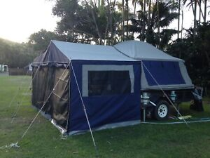 Camel Deluxe Off-road c&er trailer walk/step thru fridge slide & oztrail tent poles | Gumtree Australia Free Local Classifieds