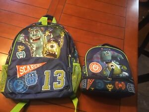 NEW!!! Kids backpack and lunch bag
