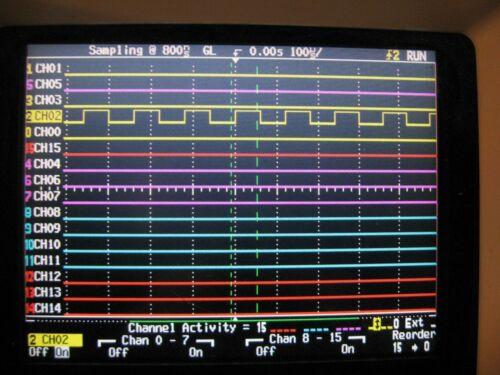 HP 54620C 16 channel Logic Analyzer