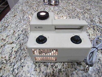 Schott Kl1500 Fiber Optic Light Source Illuminator