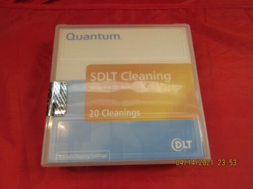 Quantum SDLT Cleaning Cartridge for SDLT 220, 320, 600, 600A 20 Cleanings