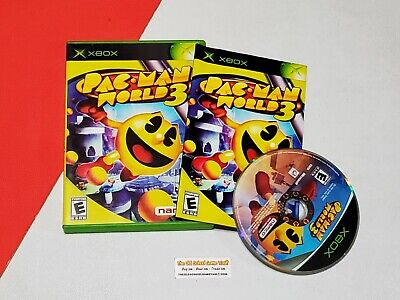 Pac-Man World 3 - Complete Original Xbox Game