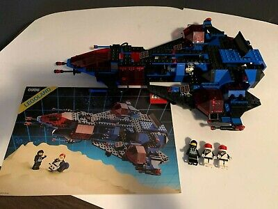 Vintage Lego 6986 Space Police: Mission Commander 1989 Complete w/manual No Box