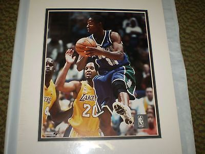 Ray Allen Matted Photo - RAY ALLEN 8X10 COLOR MATTED PHOTO NEW