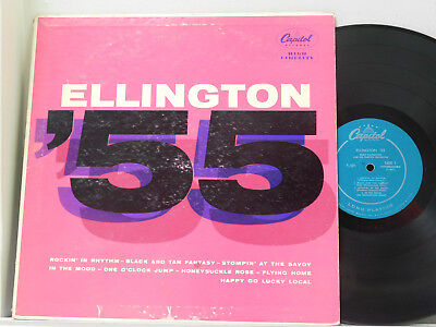 Duke Ellington Lp 55  Capitol Vg  Jazz