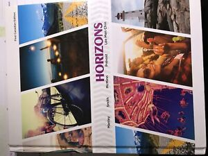 Horizons French Textbook