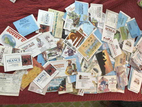 HUGE LOT of 152 National Geogrphic Maps / Inserts