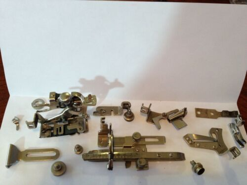 Antique Treadle sewing machine Attachments Singer