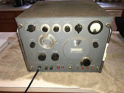 Rare Vintage Hp 620a Shf Signal Generator Powers Up