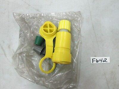 Woodhead Turnex Water Tight Female Plug 10a 250v 25w07 15a 125v W Cover Nib