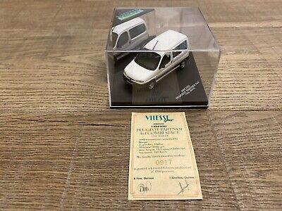 Vitesse 1/43 Peugeot Partner 4x4 1998 white n°VMC050 very nice