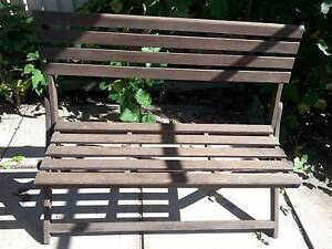 Folding Timber Picnic Bench Ryde Ryde Area Preview