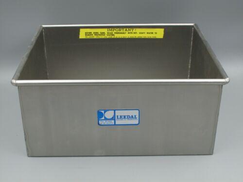 Leedal 8x10 Stainless Steel Tank / Deep Tray