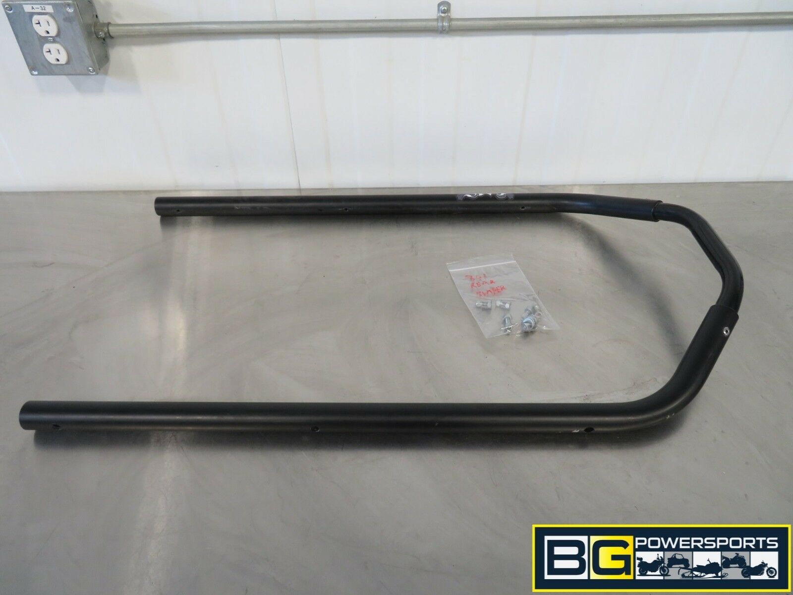 EB301 2015 15 POLARIS RMK 800 163 REAR BUMPER