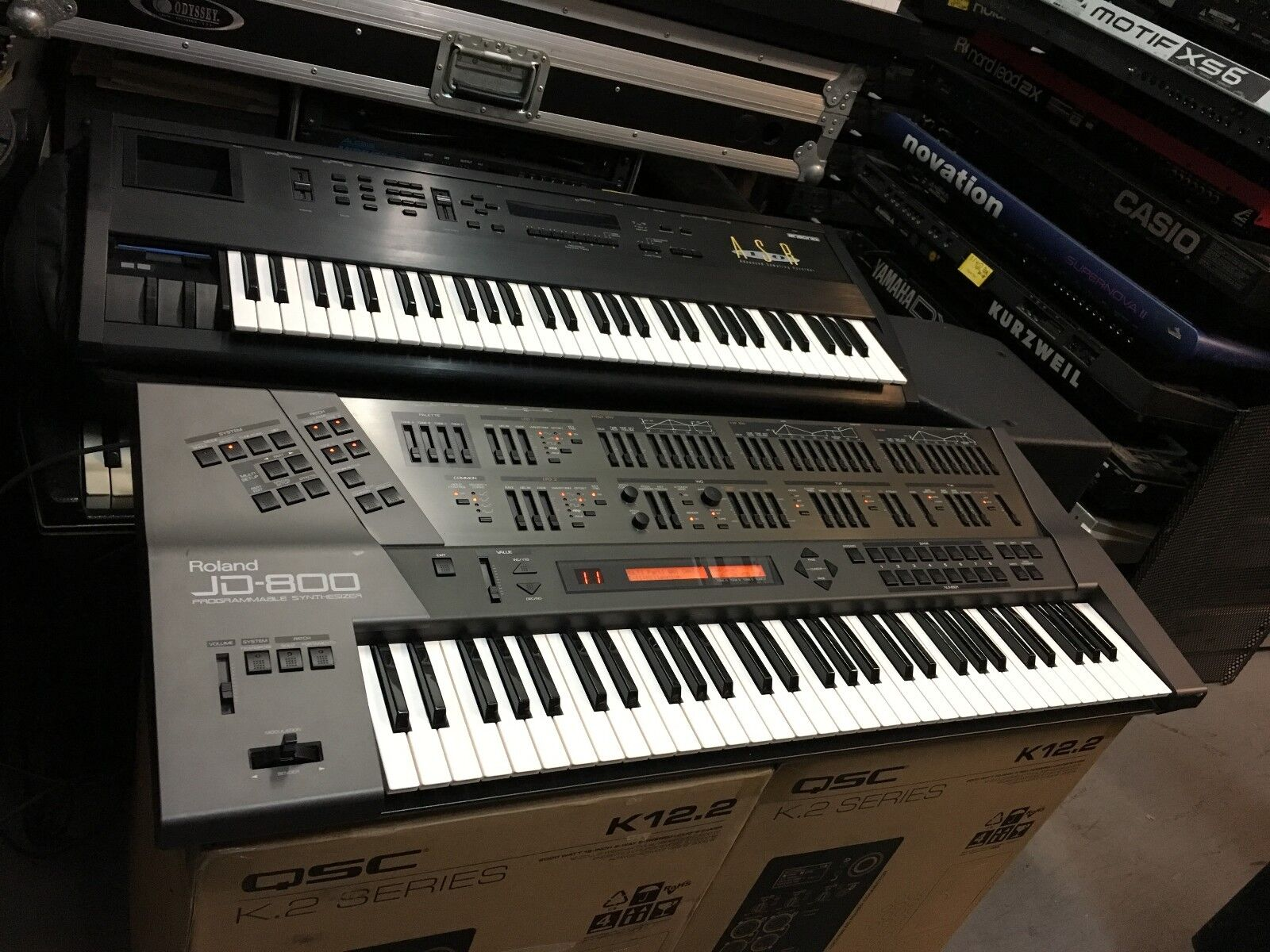 Details about Vintage Roland JD 800 Synth 61 key keyboard Brand NEW KBD  installed //ARMENS//