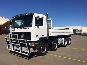 VOLVO 8X4 - F12 -END/ SIDE TIPPER COMBINATION Kewdale Belmont Area Preview