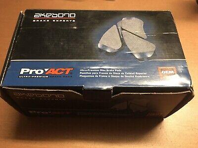 Akebono ACT503 ProAct Ultra-Premium Disc Brake Pads Advanced OEM Technology  NEW
