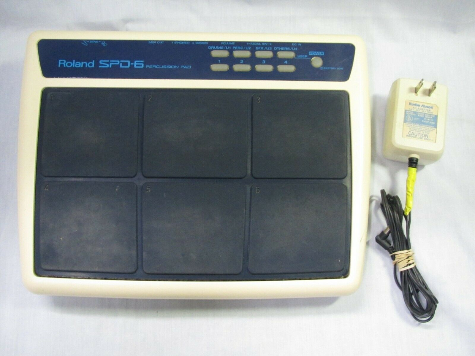 Roland SPD-6 Percussion - Electronic Drum Pad MIDI With Charger Fully Working  - $149.00