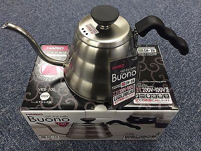 Hario V60 Buono Coffee Drip Kettle 1,000ml VKB-100HSV VKB-100 MADE IN JAPAN