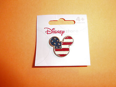 Disney Trading Pin Mickey Mouse United States Flag Disney Store USA