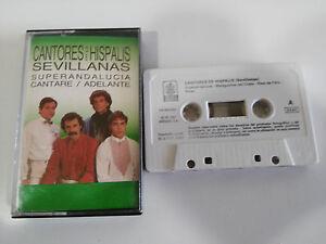CANTORES-DE-HISPALIS-SEVILLANAS-CANTARE-EXITOS-CASSETTE-TAPE-CINTA-HISPAVOX-87