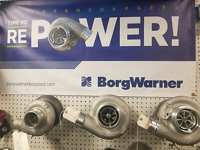 Borg Warner S200SX-E Super-Core Turbo 57mm Inducer - Forged Mill Wheel