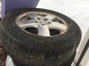 Set de pneu pour grand dodge caravan