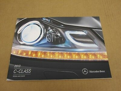 2013 Mercedes Benz C-Class C250 C300 C350 sedan coupe sales brochure literature