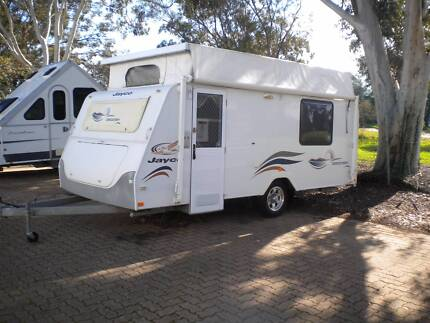 JAYCO DISCOVERY 2008 16 FT POP TOP CARAVAN Northfield Port Adelaide Area Preview