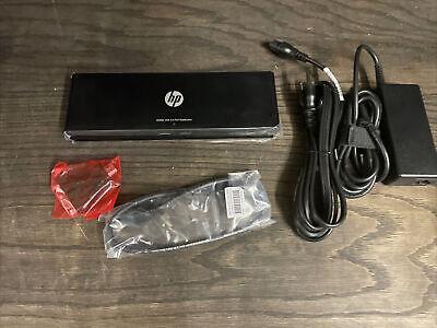 Genuine HP 3005PR USB 3.0 Port Replicator H1L08AA H1L08UT Y4H06AA 690650-001