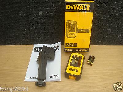 DEWALT DE0892 DIGITAL DETECTOR & BRACKET FOR USE WITH DW088K DW089K LASER LEVEL