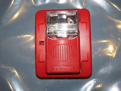 Gentex Wgec24-75wr 24vdc Horn Strobe Fixed 75 Candela Fire Alarm
