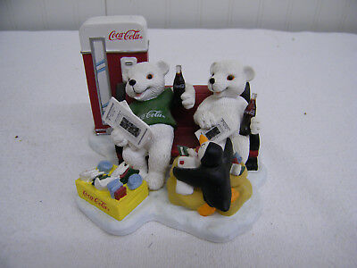 Coca-Cola Heritage Collection Member Figurine 1998 Limited Edition