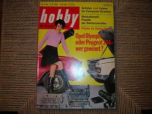 HOBBY RIVISTA 3/1968 DAF 55,BENZ-PATENT-MOTORWAGEN,OPEL OLYMPIA VS PEUGEOT 204 - Italia - HOBBY RIVISTA 3/1968 DAF 55,BENZ-PATENT-MOTORWAGEN,OPEL OLYMPIA VS PEUGEOT 204 - Italia