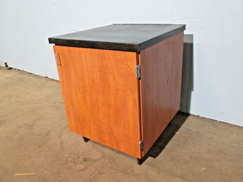 HEAVY DUTY COMMERCIAL WOODEN BEVERAGE EQUIPMENT STATION CABINET/STAND