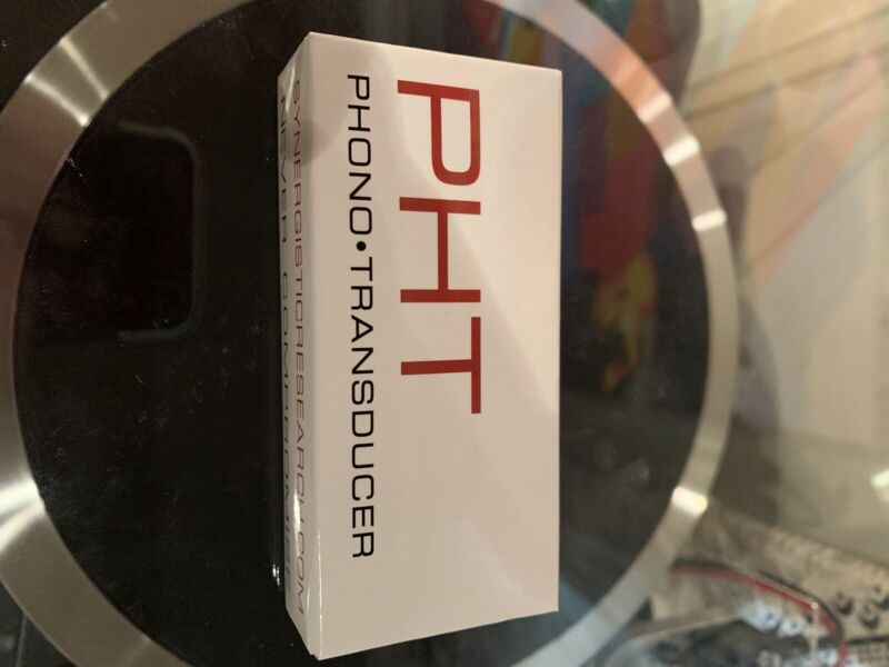 Synergistic Research PHT Black Widow Turntable Phono Transducer