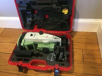 Leica Ts02 Flexline 3 R400 Total Station - Excellent Cond - Ships Worldwide