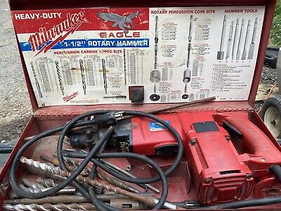 Milwaukee 5341 Eagle 1-12 Rotary Hammer Drill Spline Drive