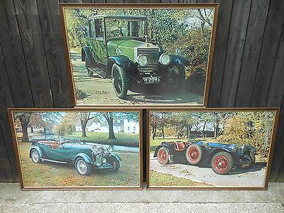 Car Pictures,Framed,Vintage/Retro,Great Look,Rolls Royce,Etc,Vintage Car,Prints.