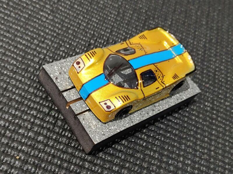 Custom Painted lexan HO Slot Car Body Viper V1 Like BSRT G3 R Not AFX Mega G+