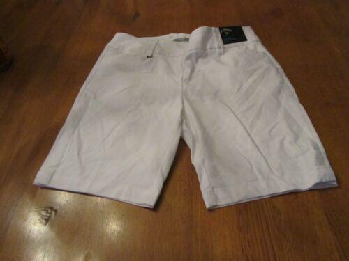 Womens Callaway Stretch Golf Shorts, NWT, L