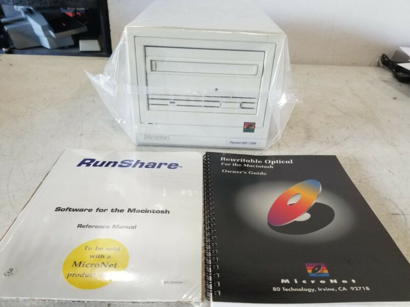 MicroNet Rewritable Optical Disk Drive SB-TMO-1300 For Macintosh