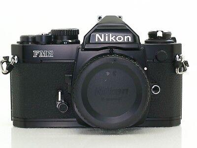 Nikon FM2N Black Camera Body Only - Near Mint